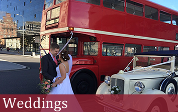 Coach Hire Weddings